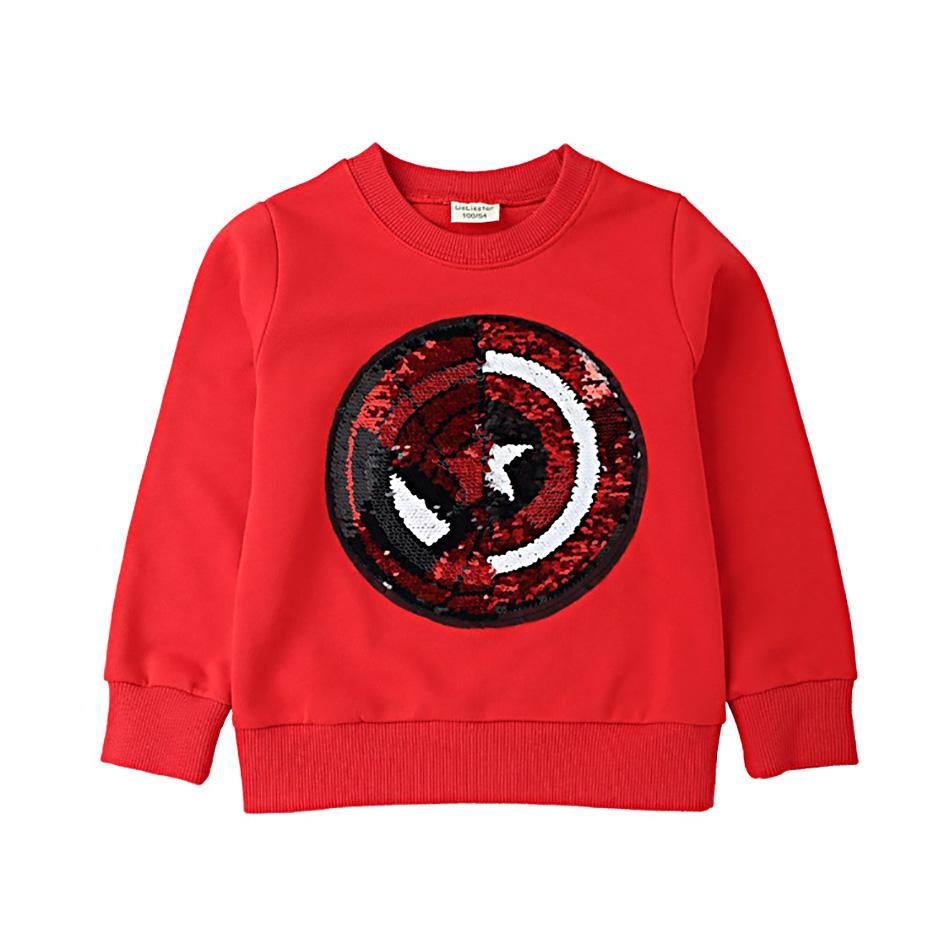 b866da9845d 2019 Spider Man Reversible Sequin T Shirt Switchable Toddler Sweatshirt  With Sequins Shirts Children T Shirts For Boys T Shirt A190208CFrom  Alicemummy