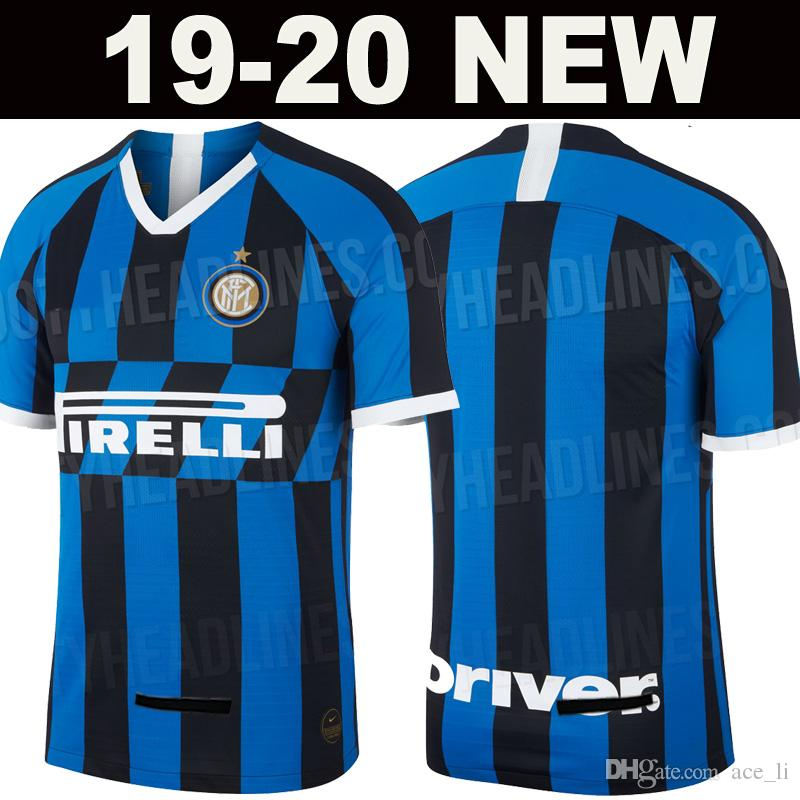 d723d26454d4 2019 19 20 Inter Soccer Jersey Milan LAUTARO ICARDI PERISIC NAINGGOLAN Football  Shirt 2019 2020 Home Away Shirt POLITANO Maillot Thailand Quality From ...