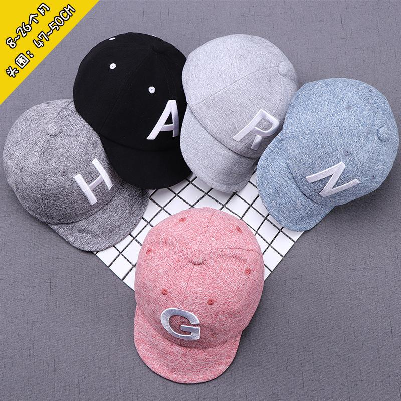 04b07fc0 2019 Korean Children Baby Hats Kids Fashion Embroidered Letter Cotton  Designer Baseball Cap Boys Girls Sun Hat Snapbacks Hats Caps Visor Adjust  From ...