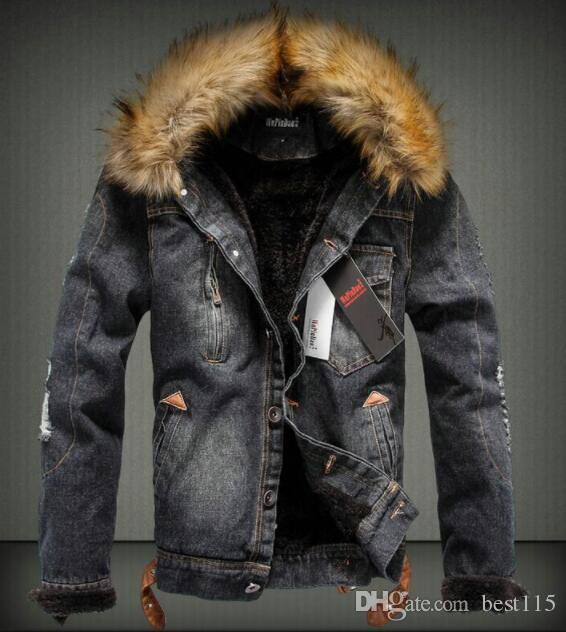 Wholesale Usa Jeans Jacket Coat Thick Style Coats Asian Size S-4XL  Dropshipping Suppliers hot sell style
