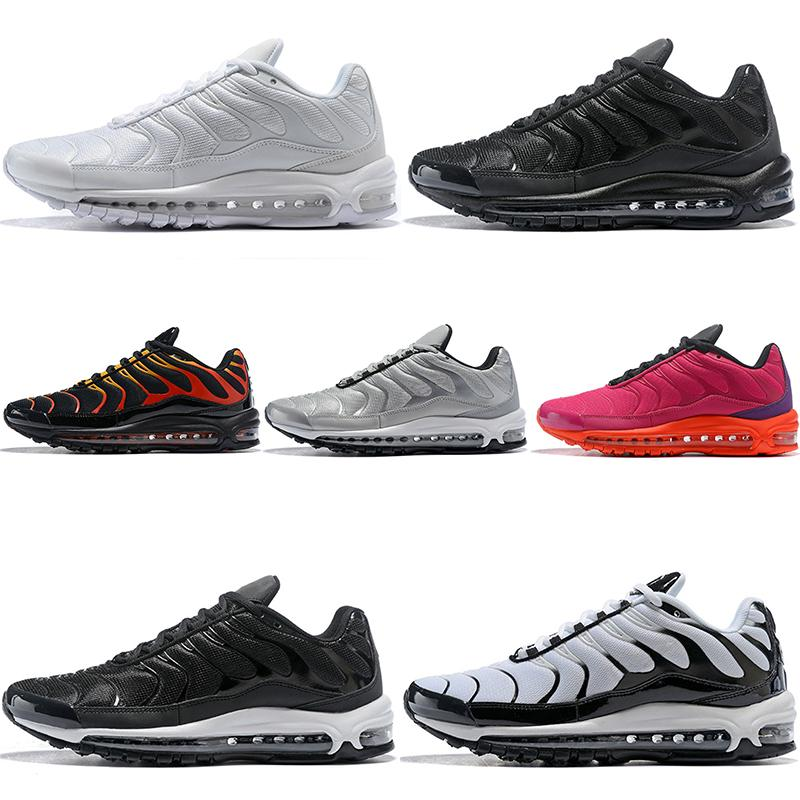 Discount Plus Men Women Running Shoes Silver Bullet Core Triple Black White Fire Red Oreo Designer Trainer Sports Sneaker Free Shipping