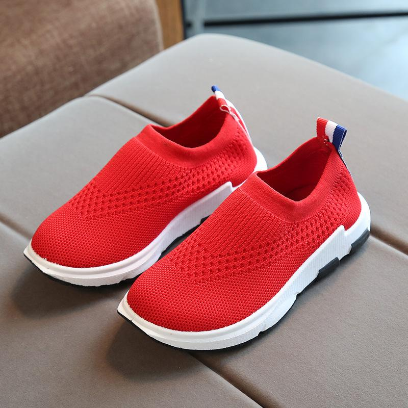 ULKNN Kids Sneakers Running Children Shoes Boys Sport Shoes Girls Breathable  Knit Socks Sneakers Outdoors Soft Casual Shoe 2018 Kid Shoe Cheap Sneakers  For ... 815387b087a