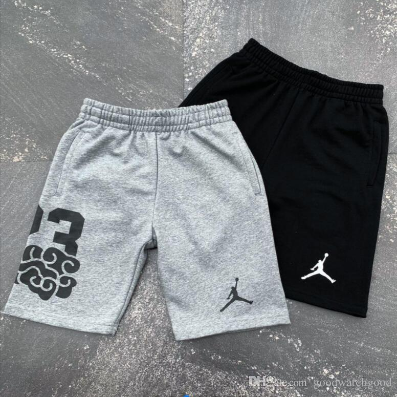 Couple logo sports basketball shorts pure cotton loop fabric comfortable soft skin friendly high quality offset printing elastic waist