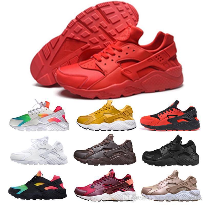 super popular 6046b b38d0 Acheter 2019 Huarache Ultra Chaussures De Course Hommes Femmes Air Huarache  Run SE Chaussures De Sport Huaraches Huraches Zapatos Baskets Hommes  Harache ...