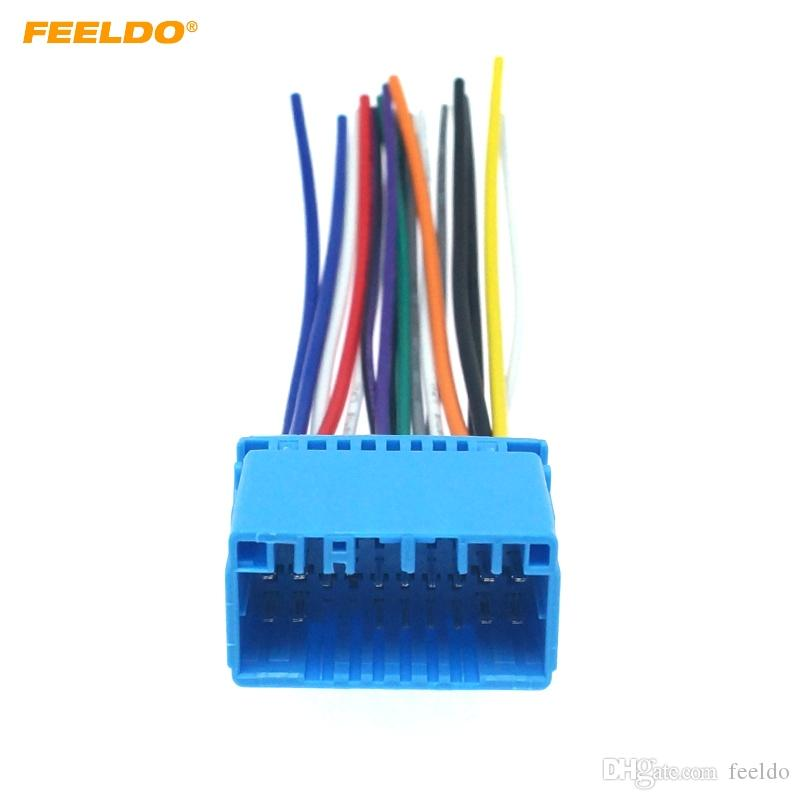 2020 FEELDO Car Aftermarket Audio Radio Stereo Wiring