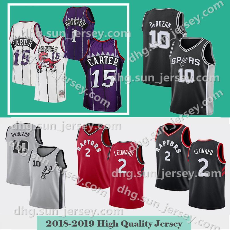 41ff09e4eed 2019 Kawhi 2 Leonard Demar 10 DeRozan Toronto Men S New Raptors Vince 15  Carter San Jersey Antonio Spurs Kyle 7 Lowry Basketball Jerseys From  Welove jersey