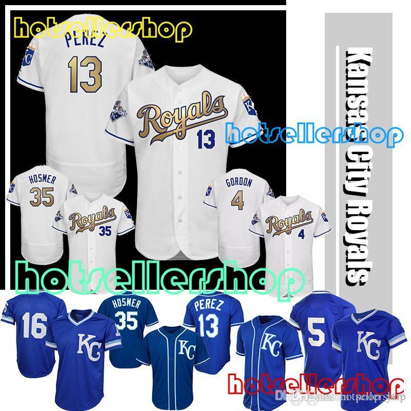 a94922e89 ... czech 2018 kansas city royals baseball jerseys mlb jerseys 4 alex  gordon 35 eric hosmer 16