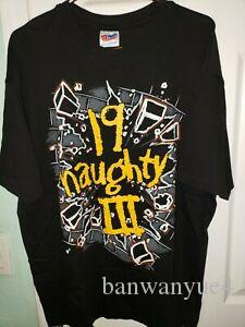 Naughty By Nature Rap Tee 19 Naughty 3 Winterland Shirt Large 90s Vintage 1993