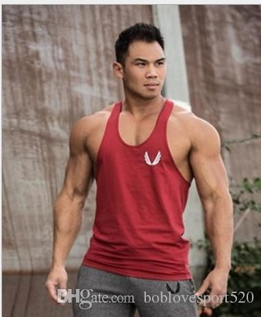 b7447633cc5ec Men Tank Top Bodybuilding Sweatshirts Fitness Clothing Summer Tank ...