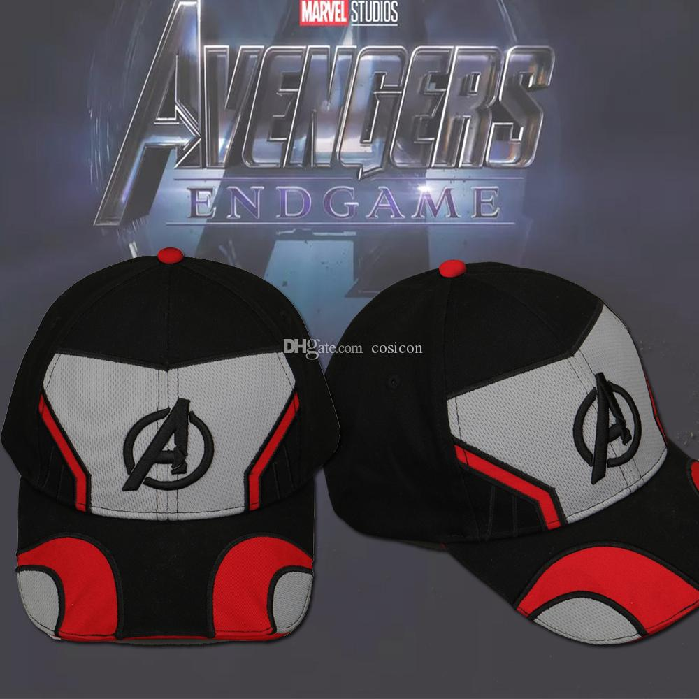 85438c7157d3b Compre 2019 Movie Avengers 4  Gorra De Cosplay De Endgame Cosplay De ...