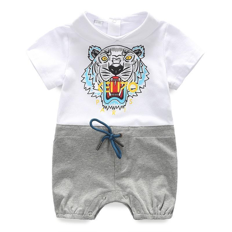 2019 Baby Tutu Dress Lin Tai Clothes Short Sleeve Individual Month Newborn Clothing Full Moon Pure Cotton Thin Baby Summer Tiger From Tang6606