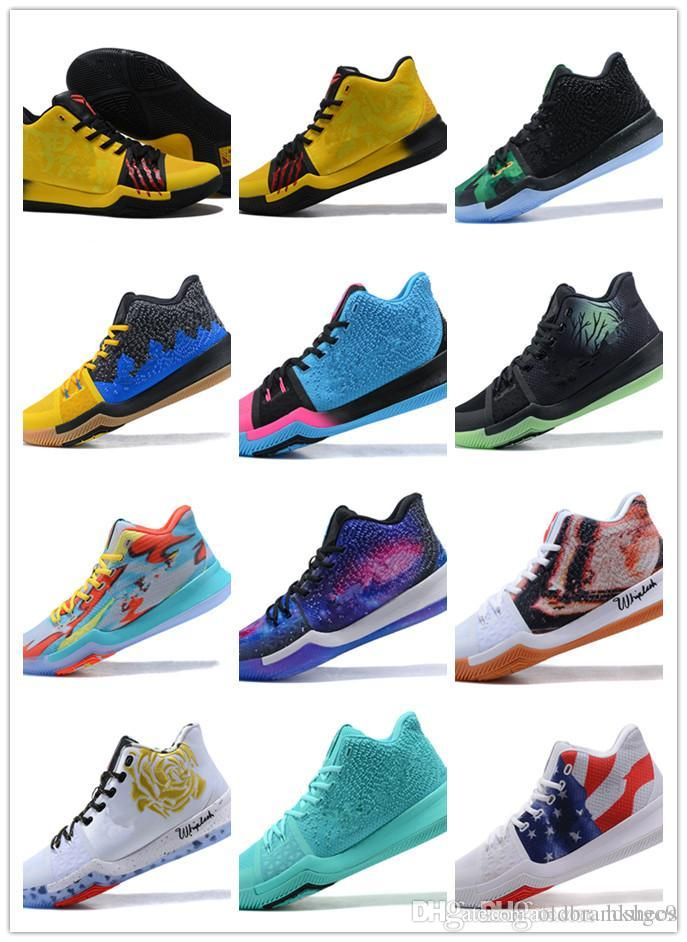 c45c627804df 2019 Top Quality Kyrie  3 Bruce Lee Shoes Classic Basketball Shoes Mamba  Mentality Signature Shoes Outdoor Sports Sneakers From Oldbrandsheos