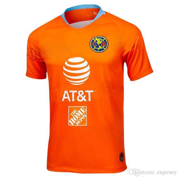 d91af229384 2019 2018 19 Club De Futbol America Home Soccer Jersey New De Futbol America  Away Soccer Shirt Customized Mexico Club Football Uniform Sales From  Eujersey