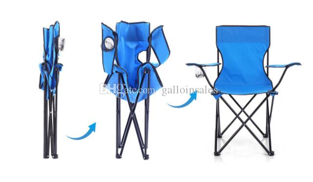 Hiking & Camping Camp Furniture Picnic Folding Table Chairs Fold Up Beach Camping Chair Stool Easy Carry Fishing Small Seat FCC001