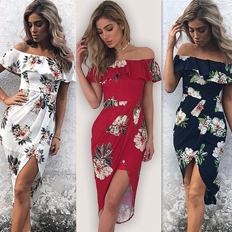 ba2eda00009 2019 New Cute Summer Women Dress Sexy Sheath Sleeveless Dress Fashion Plus  Size Casual Slash Neck Ruffle Office Dress Vestidos Dresses Sale Satin  Dresses ...
