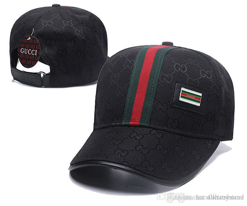 ac12241ed1714 New Fashion G Ball Hats Popular Bee Baseball Caps Vintage Embroideried  Curved Brim Cap With Green Red Decor Belt Adjustable Golf Visors Cap Custom Hats  Mens ...