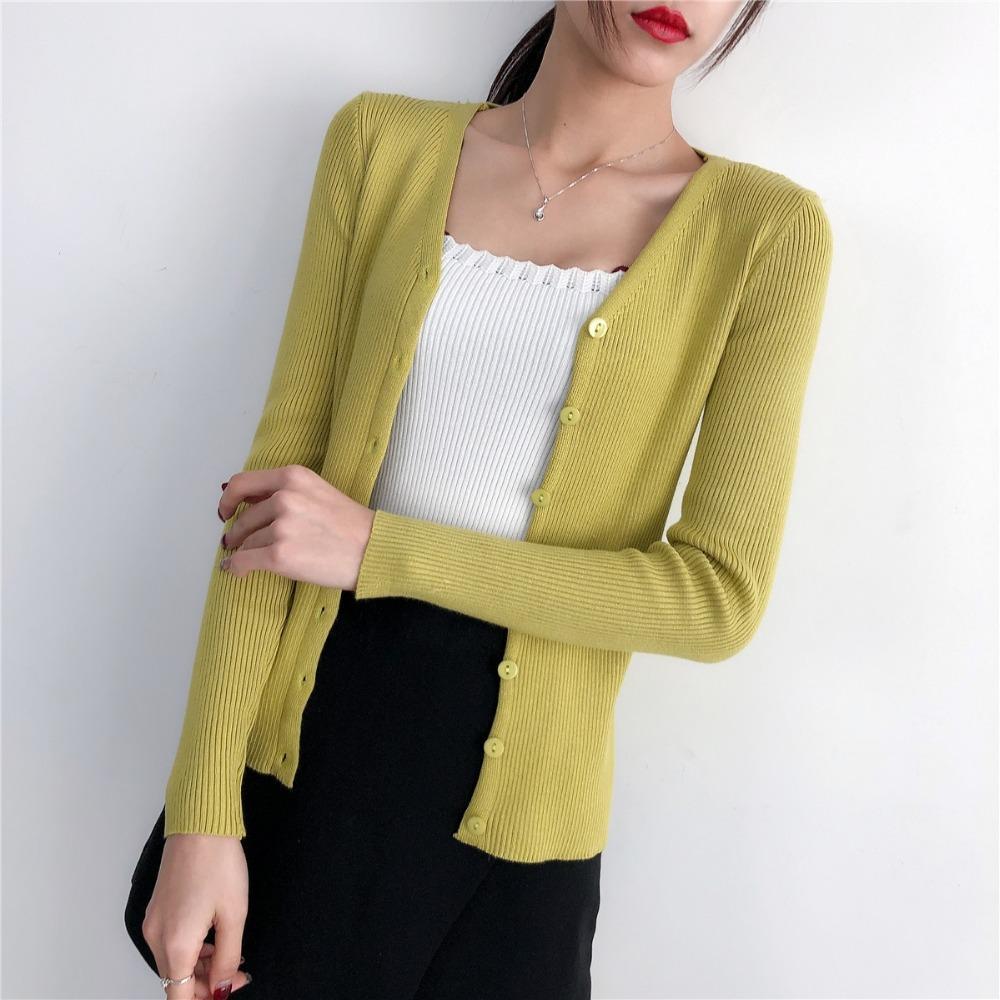 e5f1a66da7c 2019 Cardigan Women Clothing Long Sleeve Knitted Sweaters Cardigans ...
