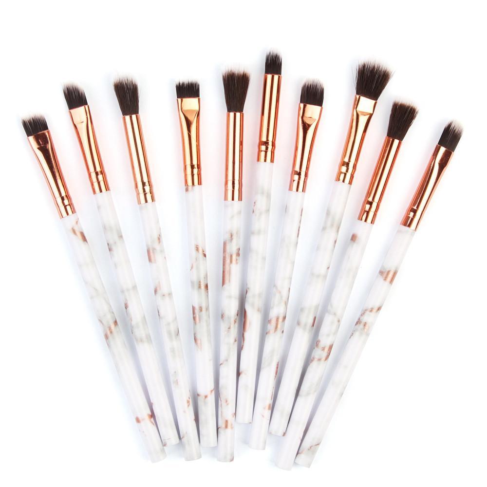 Hot Women s Fashion Marbling Eye Makeup Brushes Multifunctional ... 2cb093bcb