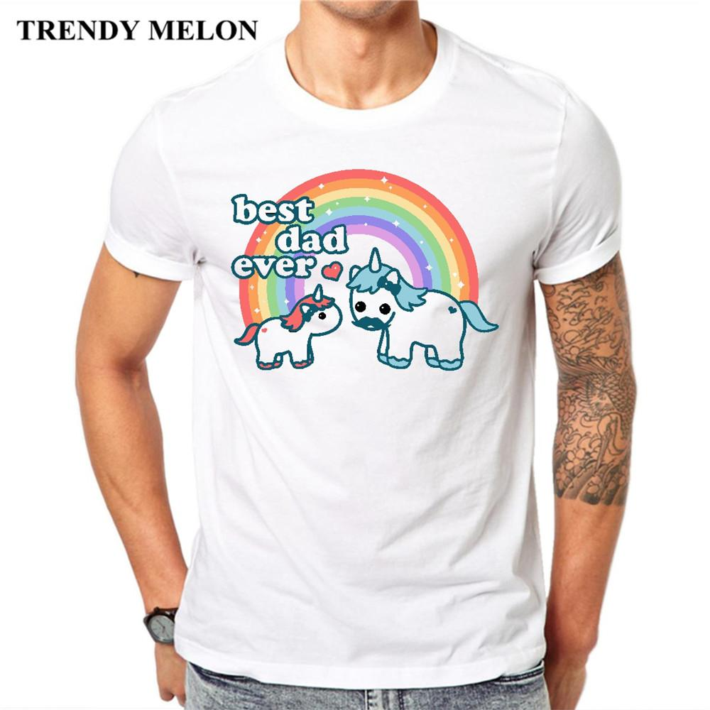 52ee8c5f Trendy Melon New Arrival T Shirt Men Unicorn Best Dad Funny Casual Cool  Tees Fashion Cotton Tops Maa03 Crazy T Shirts Designs Ridiculous T Shirt  From ...