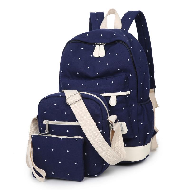5d49c585ba Fashion Canvas Bags Women School Backpacks College Schoolbag For Teenager  Girl And Boys Rucksack Moclila Shoulder Bag Handbags Rucksack From  Ultraweek