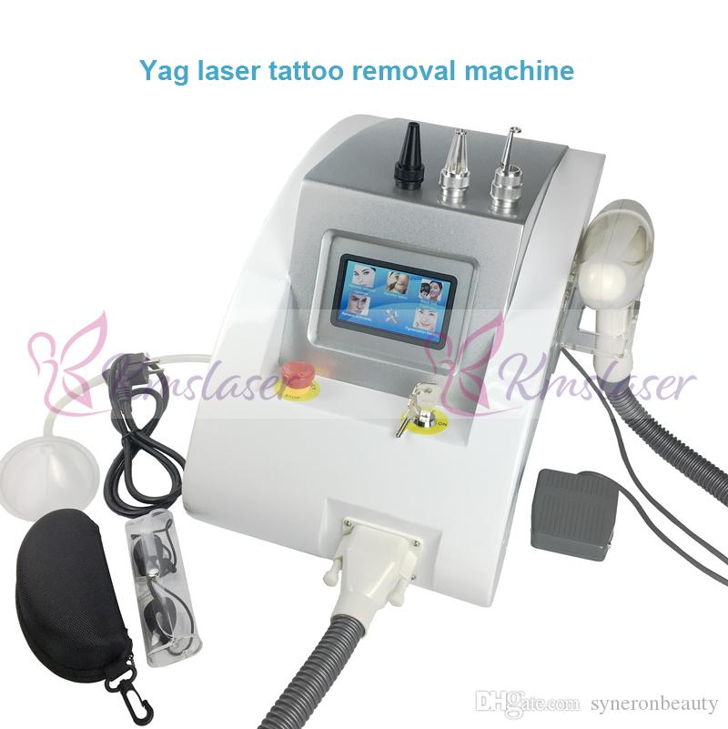 1000w touch screen nd yag laser beauty equipment scar freckle removal & scar acne tattoo remover