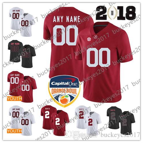 3e8401098 Custom Mens Youth Alabama Crimson Tide Stitched Any Name Any Number ...