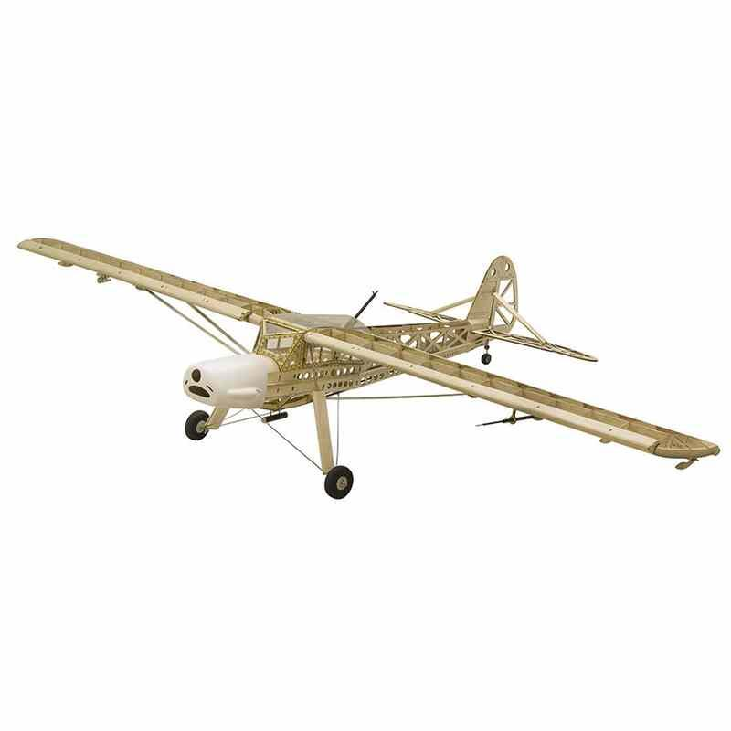 New Design Dancing Wings Hobby Fieseler Fi 156 Storch 1600mm Wingspan Blasa  Wood Laser Cut Warbird RC Airplane KIT For Kids Gift