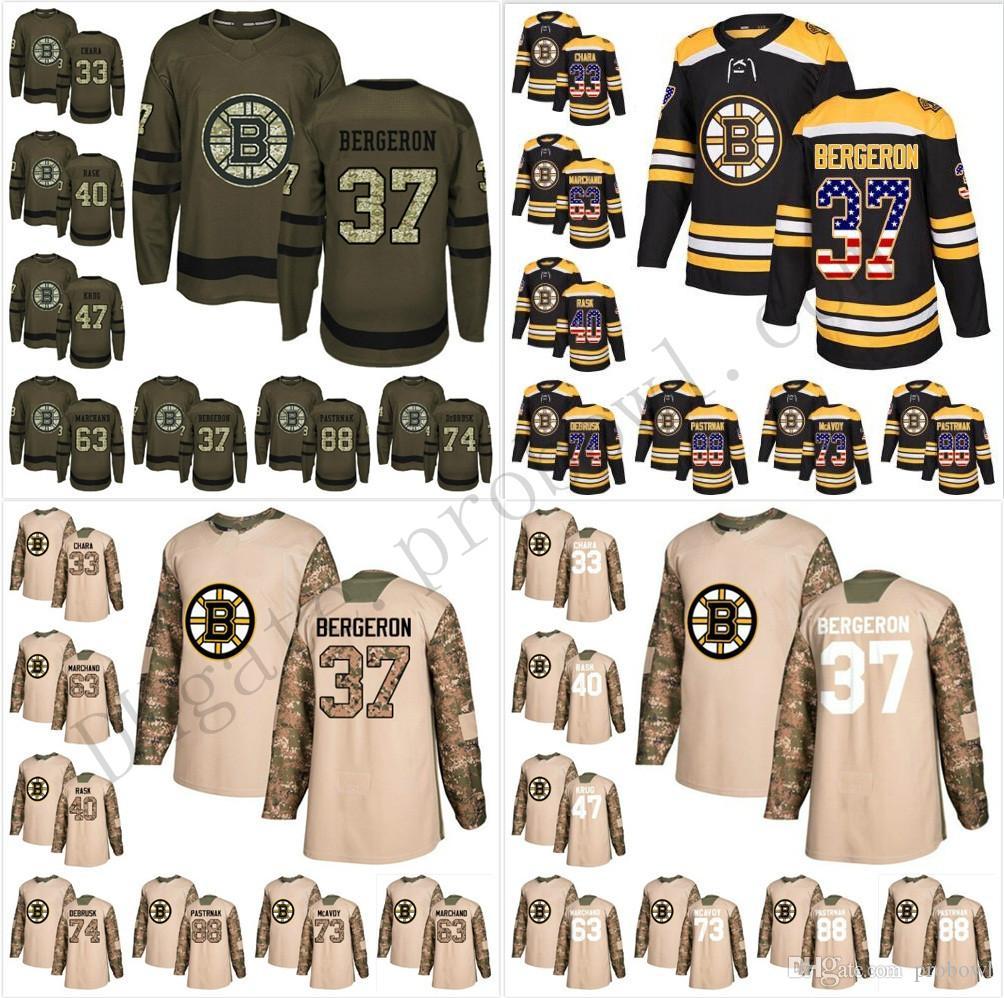 0c3b12a10 Custom 2019 Winter Classic Boston Bruins XS 6XL 73 Charlie McAvoy 37  Patrice Bergeron Tuukka Rask Marchand Pink Purple Chara Hockey Jerseys  Canada 2019 From ...