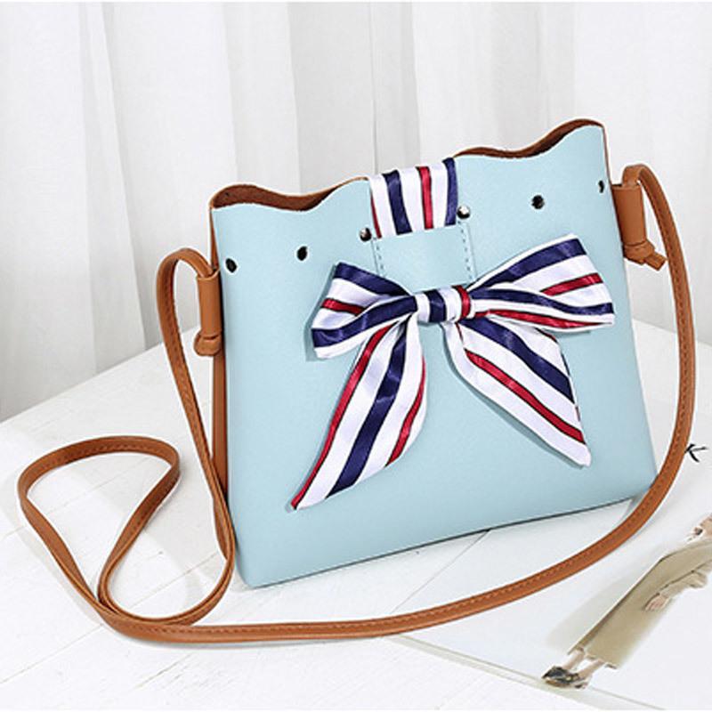 5e1229199d Cheap Hot Sale Famous Brand Woman Bags Cute Women PU Leather Handbag Sling  Bag Bucket Scarf Drawstring Crossbody Bag Bolsos Mujer Satchel Laptop Bags  From ...