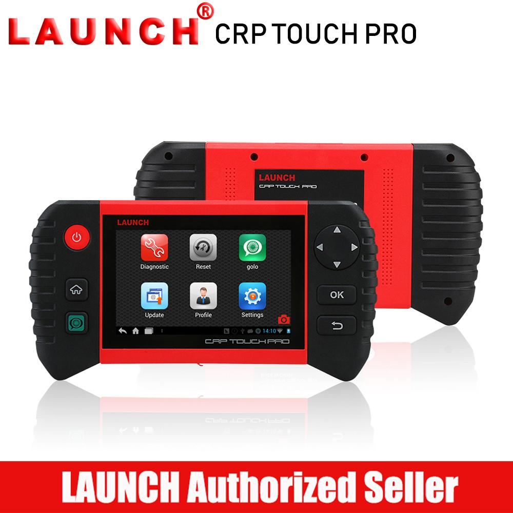 Launch Crp Touch Pro Car Diagnostic Scanner Full System Automotive Scan Tool Autoscanner Diagnosis Brake Oil Reset Tools Dpf