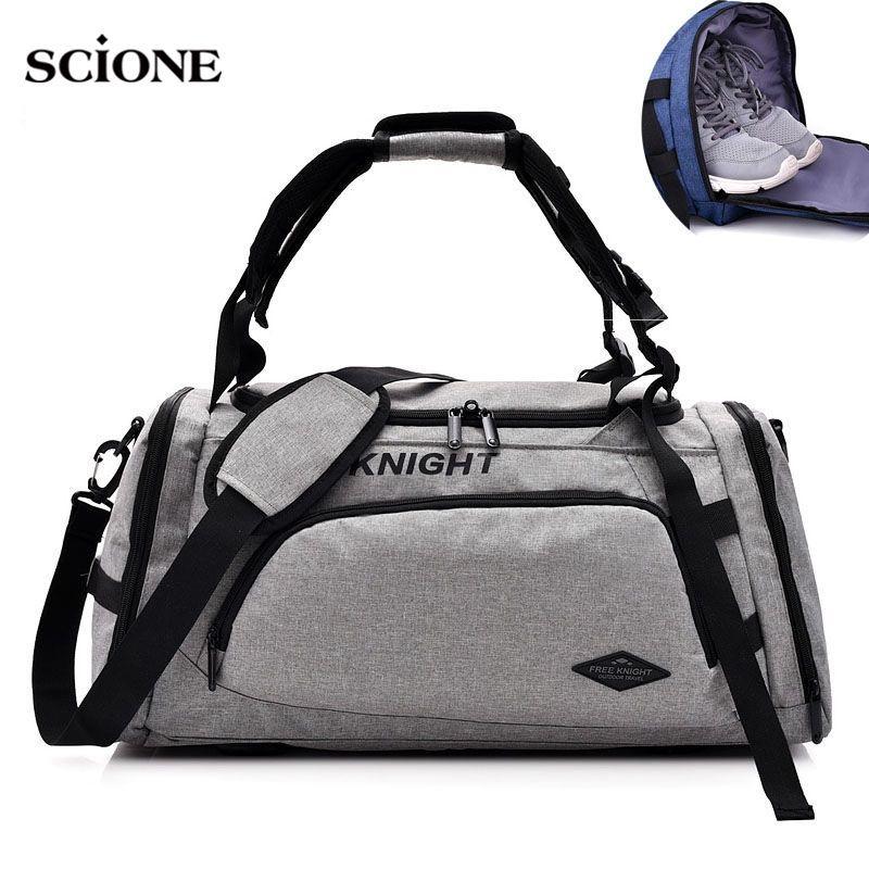 7c5a661433 2019 2018 Travel Backpack Gym Bags Men Training Fitness Backpacks Sports  Handbags Shoulder Bag For Shoes Sac De Sport Mochila XA487WA  42711 From  I jersey