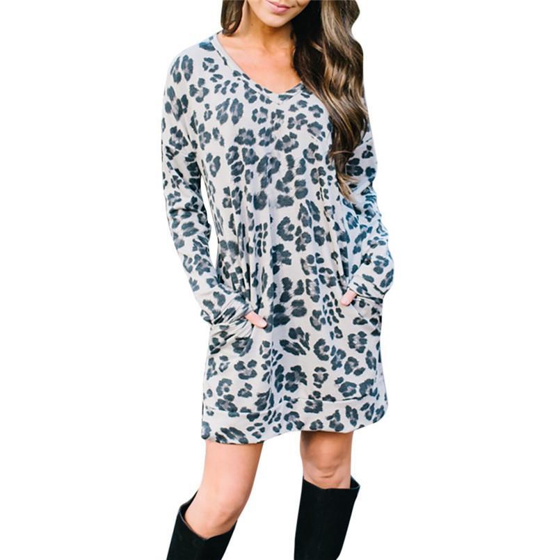 763c9c5f451 Loose Pockets Dress Women Summer Casual Mini Dress Women Summer 2019 Plus  Size O Neck Vestidos Mujer 2019 Casuales 40ja16 Cheap Womens Sundresses  Black ...