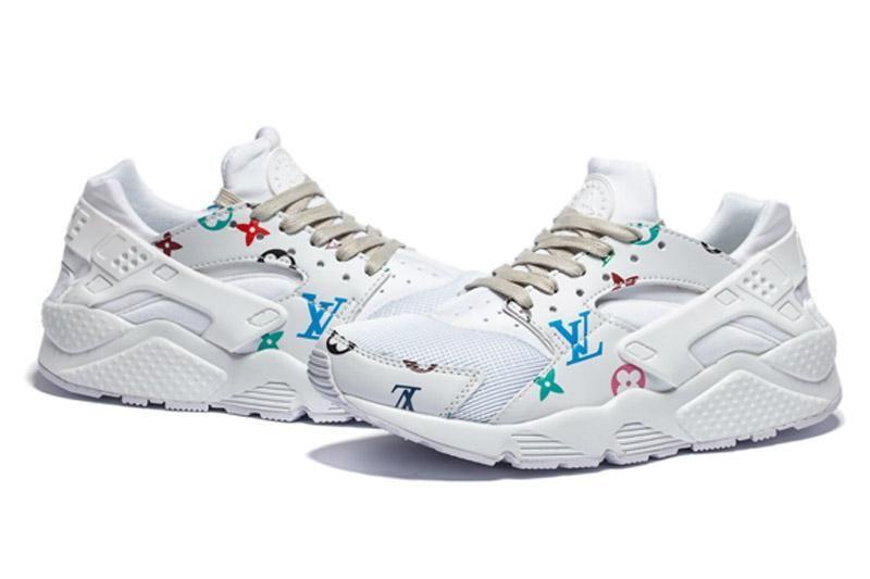 online store 77a72 a0991 Acheter 2018 Date Air Huarache 4 IV Ultra Reflect Chaussures De Plein Air  Pour Hommes Femmes En Cuir Hommes Air Huaraches Sports Chaussures De Plein  Air 36 ...