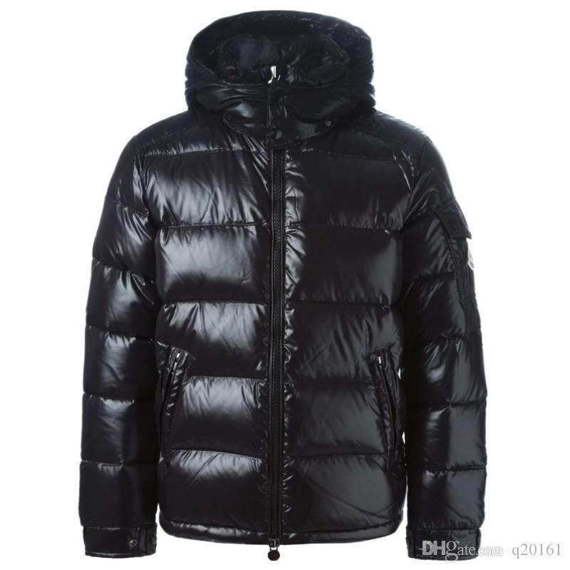 720b5973e680c Acheter Marque Masculine Anorak De Haute Qualité Veste D'hiver Populaire  Veste D'hiver Chaud Plus Size Man Down Unisexe Hiver Chaud Manteau Outwear  De ...