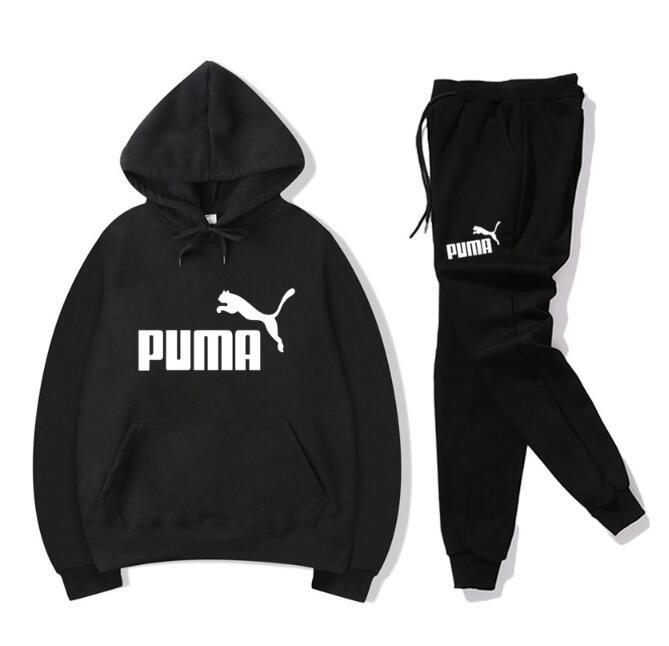 920e55187b1b 2019 Men Sportswear Hoodie And Sweatshirts Black White Autumn Winter Jogger  Sporting Suit Mens Sweat Suits Tracksuits Set Plus Size From Min65739663