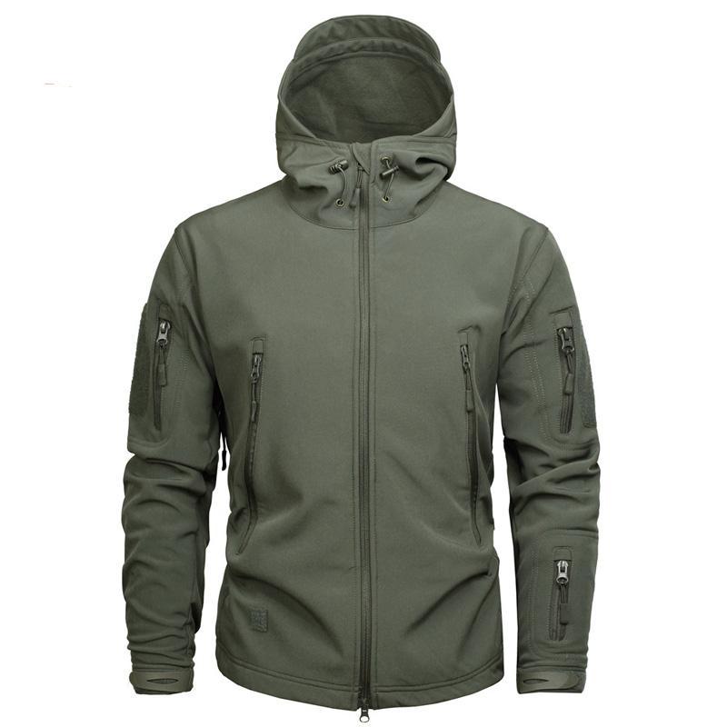 da1895111dd0 Мужская армейская куртка камуфляж и пальто тактическая куртка зимняя ...