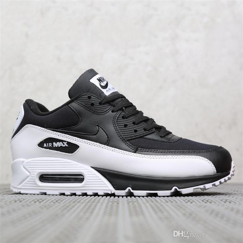Aire Hombre Deportivo Diseño Cuero Negro Moda Al Deporte Zapato Informal Cojín Para Marca Zapatillas De 1FlJcK