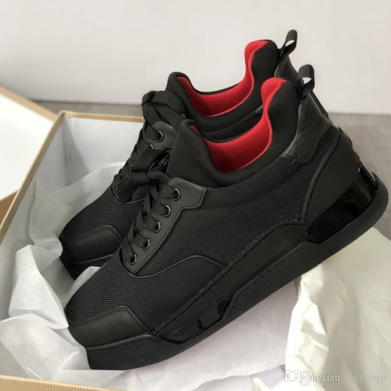 c2a1f44148b Beat designer shoes Aurelien Flat Sneakers Red Bottom Trainer Low top Men  Women Casual Luxury Shoes Perfect Gift With Box dust bag size 5-1