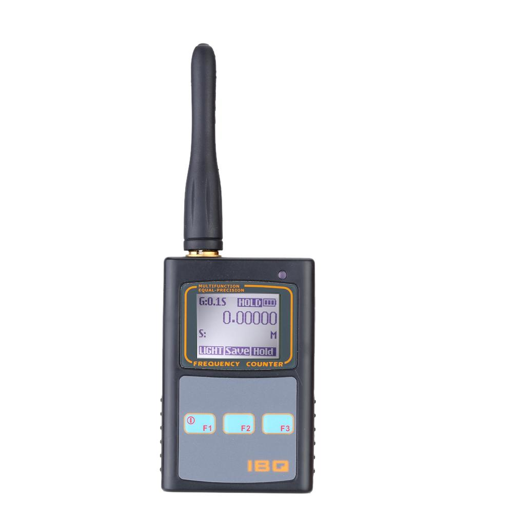 Handheld Cymometer Digital Lcd Frequency Counter With Uhf Antenna Analyzer  Frequency Meter 50mhz -2  6ghz For Two Way Radio