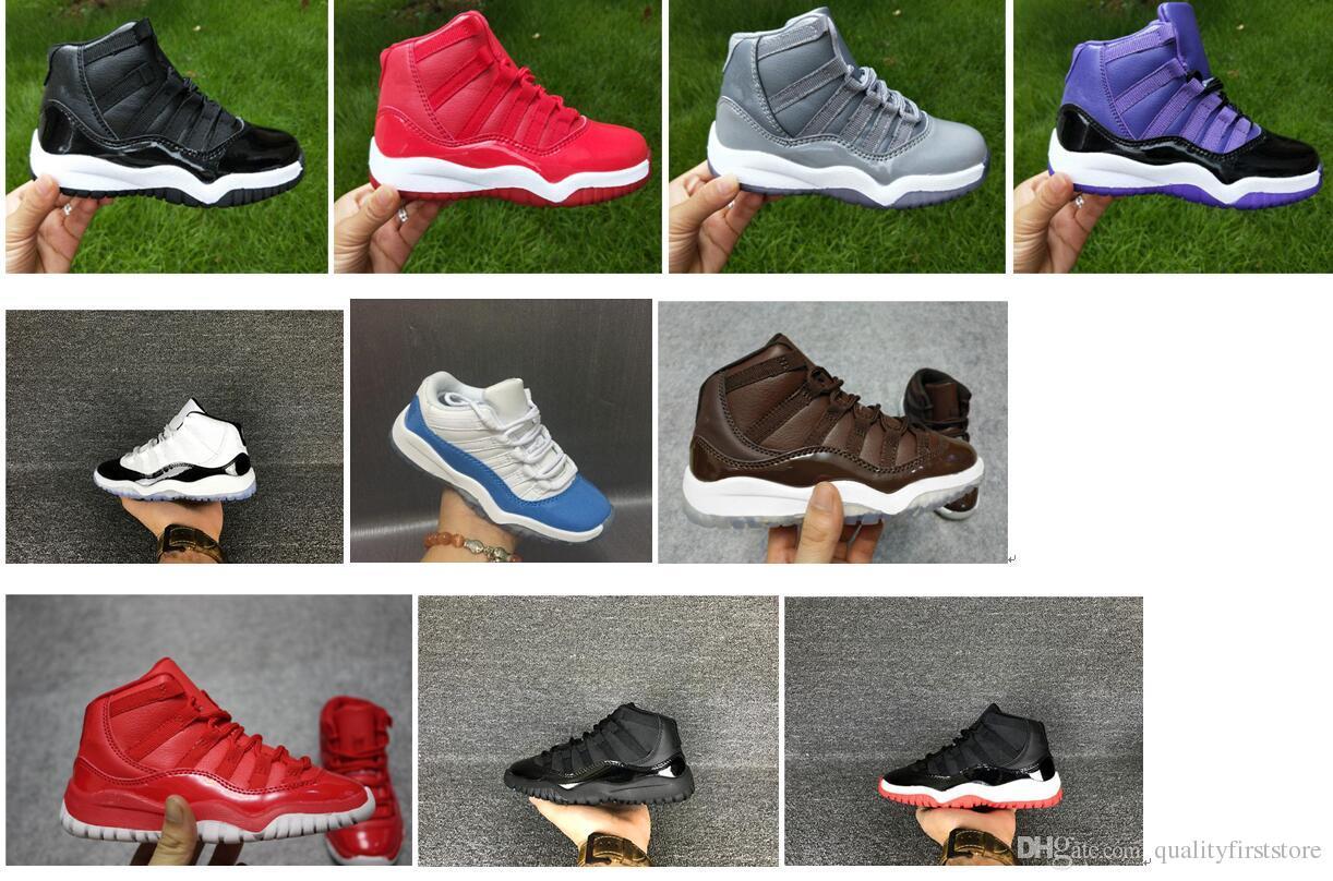7e6afe5c1 Compre Calçados Infantis Sapatos De Basquete Atacado Novo 1 Espaço Jam 72  10 CNY 11 S Sapatilhas Crianças Sports Running Menina Formadores 28 35 De  ...