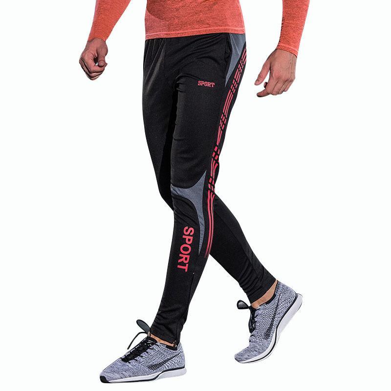 9b00d7c905eb6e 2019 Running Jogging Men S Sweatpants Skinny Joggers Pants Men Soccers  Footballs Training Pants Sports Wear Sport Pants Men C18121701 From  Lizhang03