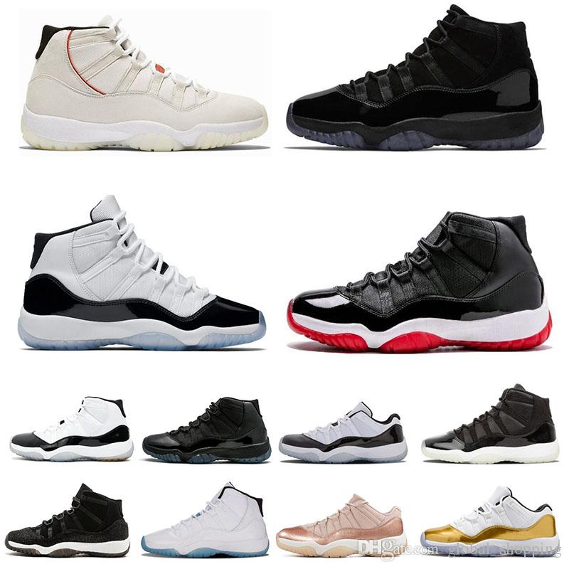 ccdbb6e16c4 11s Concord 45 Mens Basketball Shoes XI Platinum Tint Cap Gown Prom Night  Gamma Blue Bred Barons Women Sports Shoes Sneakers Size 5.5 13 Shoes Sports  Sports ...
