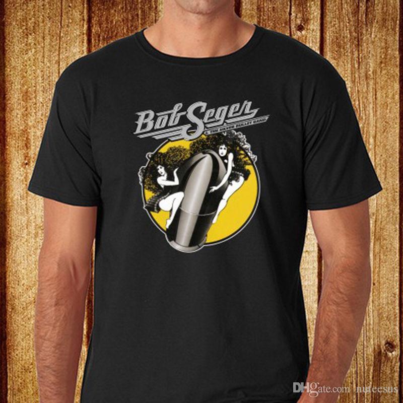 c6eef983 The Silver Bullet Band Music Legend Men's Black T-Shirt Size S-3XL ...