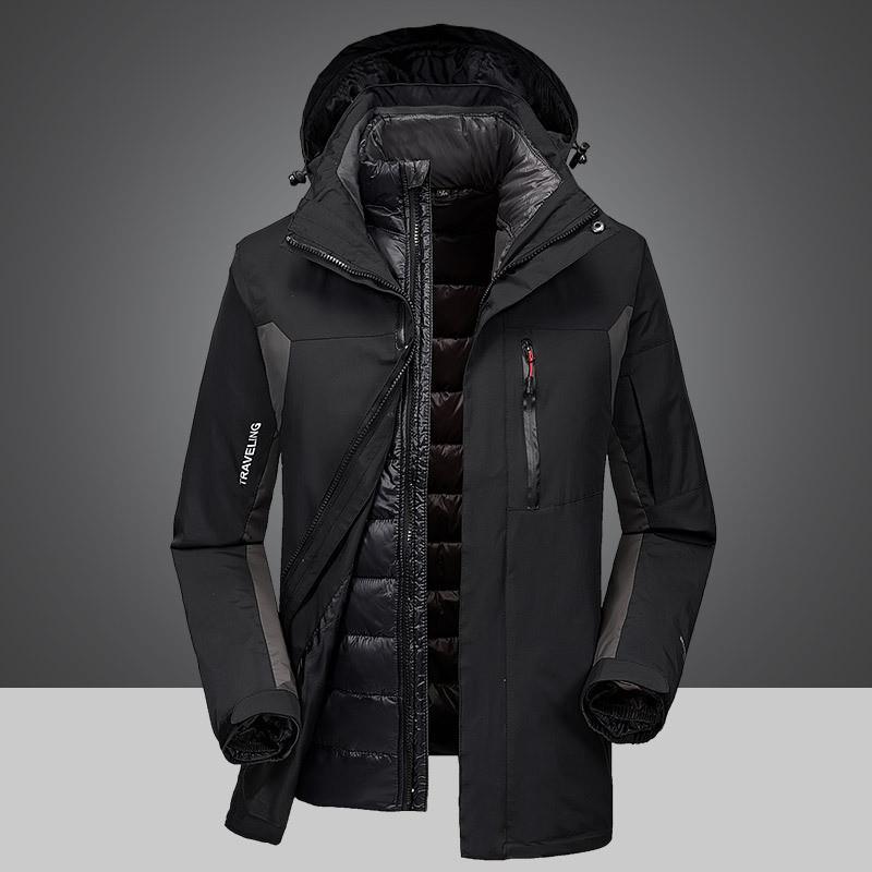 Outdoor Men New Year Winter Jacket Two Piece Down Bladder Waterproof Warm  Mountain Coat Cold Proof Windbreak Down Bladder Lightweight Jackets  Designer ... fa23ffc87