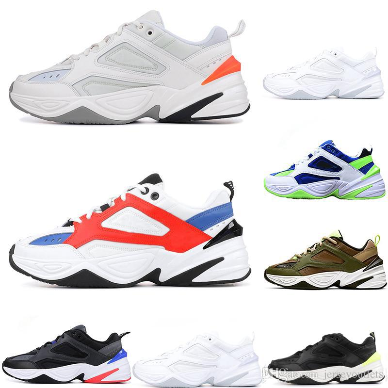 2019 2019 M2K Tekno Old Men Sport Running Shoes For Men Women Sneakers  Athletic Trainers Professional Outdoor Designer Shoes From Jerseyoutlets 6a97ea865d52