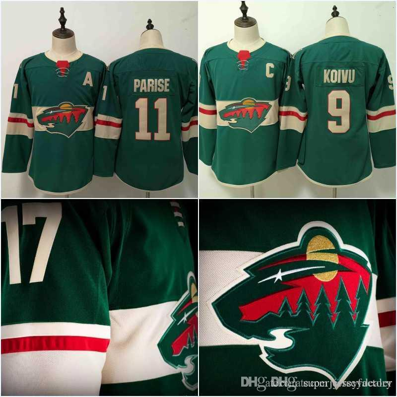 separation shoes 7b668 52dcb Women/Youth Minnesota Wild Jersey 11 Zach Parise 9 Mikko Koivu 40 Devan  Dubnyk 64 Mikael Granlund Hockey Jerseys Cheap