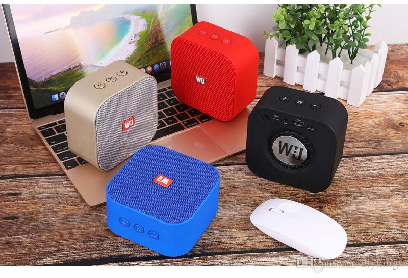 Outdoors Vehicle Driving Mobile Bluetooth Audio Mini Wireless Subwoofer Speaker Loudspeaker Box Household Portable Cloth Art Loudspeaker Box