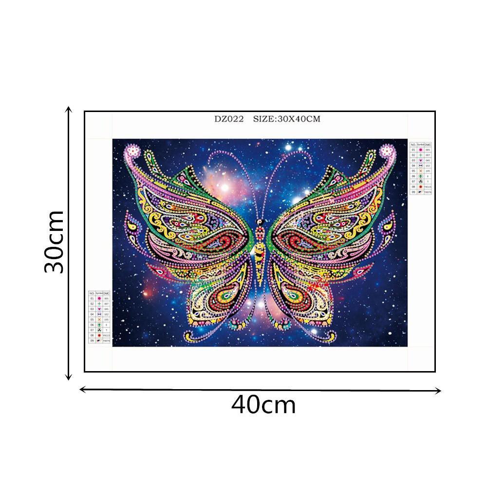 Pittura a forma di diamante speciale farfalla pavone gufo fiore fai da te 5d trapano parziale kit punto croce di cristallo strass arti