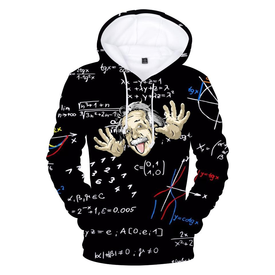 539581610be 2018 Einstein 3D Hoodies Men/Women Fashion Sweatshirts Funny Hoodies Men  Autumn Sweatshirts 3D Printed Einstein XXS-4XL