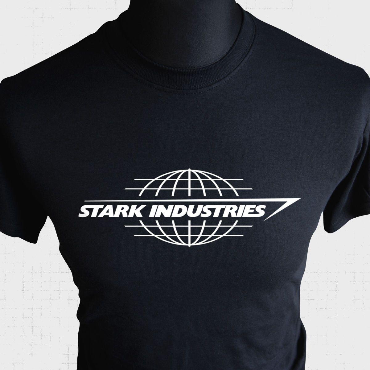 3bef721946bb Stark Industries T Shirt Iron Man Tony Avengers Assemble Cool Comic Book  Hero Bk Funny Unisex Casual Tshirt Top Cool Looking T Shirts Buy Designer  Shirts ...